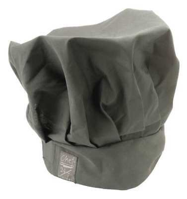 CHEF REVIVAL H400BK Chef Hat, Black, 13 Inch Tall