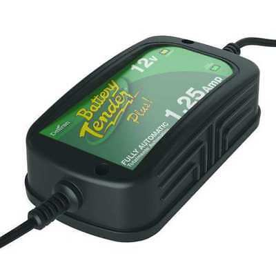 BATTERY TENDER 022-0185G-DL-WH Battery Charger, 12VDC, 1.25A