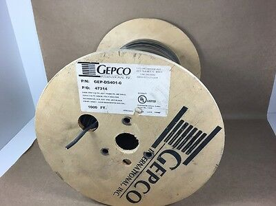 GEPCO DS401 - High Bandwidth 110Ω Digital - Electronic Cable - 24AWG - 1000Ft