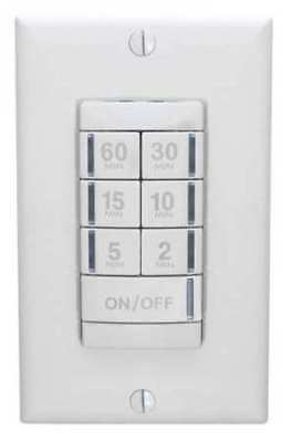 Wall Switch Timer, Acuity Sensor Switch, PTS 60 WH
