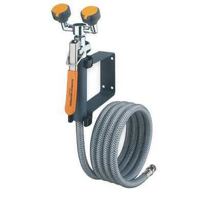 Dual Head Drench Hose,Wall Mount,8 ft. GUARDIAN EQUIPMENT G5026