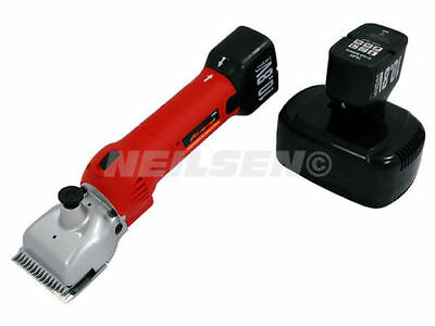 Neilsen 12 Volt Cordless horse clippers 2 x 12v Li-Ion Batteries NEW CT3656