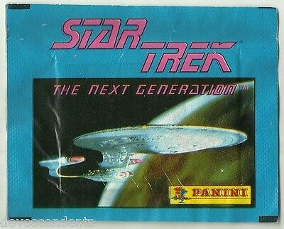 1992 PANINI STAR TREK Next Generation 1 Sealed Packet