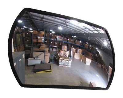 Indoor Convex Mirror,15x24 in. ZORO SELECT 8AAP4