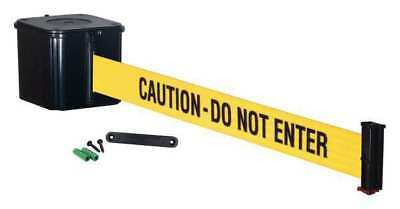Wall Barrier, 15ft -CAUTION DO NOT ENTER RETRACTA-BELT WM412SB15-CAU-RE