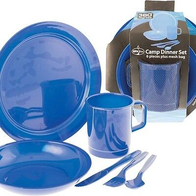 360 Degrees Dinner Set - Blue