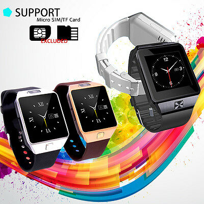 Cawono DZ09 Bluetooth Smart Watch GSM SIM For Android Phone iPhone Samsung IOS