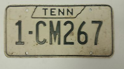 EXPIRED 1970s TENNESSEE Shelby County License Plate 1-CM267