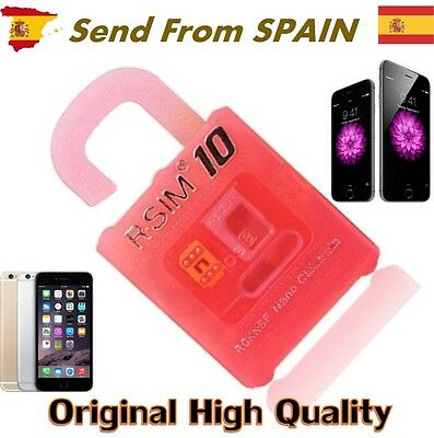 R-SIM 10 RSIM Nano Cloud Unlock Card for iPhone 4S 5 5S 5C 6 6+ plus iOS 8.X