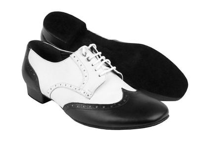 "Very Fine PP301 Party Party Men's dance shoes 1"" heel Smooth Standard swing"