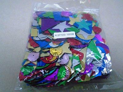 Mixed Craft Spangles 100g LSP7050