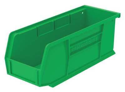 "Green Hang and Stack Bin, 10-7/8""L x 4-1/8""W x 4""H AKRO-MILS 30224GREEN"