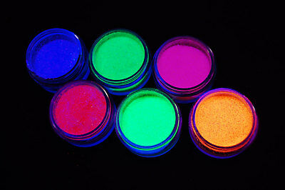 paintglow uv blacklight reactive face and body glitter shaker fast