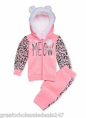 BABY GIRL HOODIE AND JOGGERS SET (Wholesale Lot of 15)