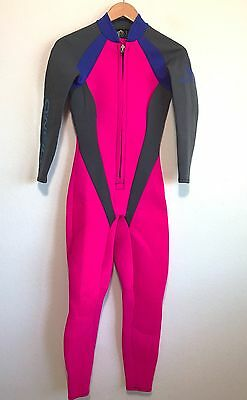 O'Neill Womens Full Wetsuit 3:2 Front Zip - Ladies Size 8