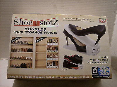Shoe Slotz Space Saver, 6 Piece Set