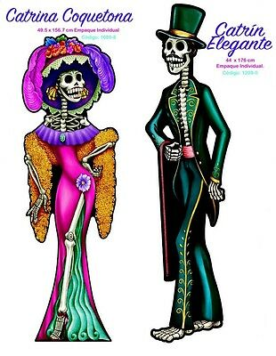 Huge Catrina And Huge El Catrin Over 5 Ft Day Of The Dead Dia De