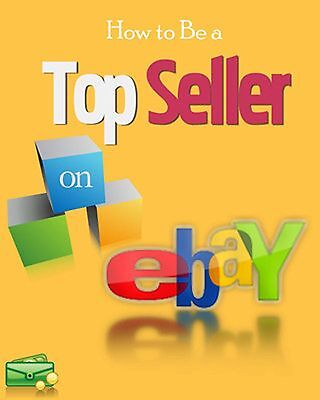 How To Become Top Seller on eBay eBook-PDF Master Resell Rights Free Shipping.