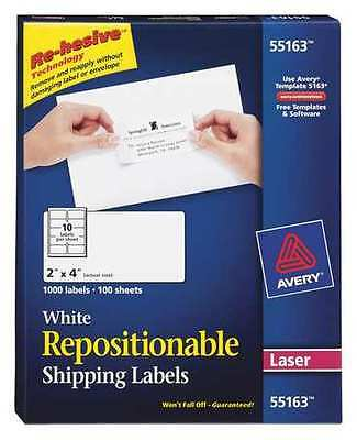 Laser Label, White ,Avery, 55160