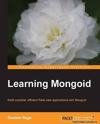 Learning Mongoid Gautam Rege Paperback New Book Free UK Delivery