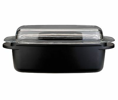 BergHOFF 32cm Cast Aluminium Covered ROASTING PAN, Non-Stick