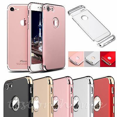 Luxury thin Electroplate Hard Back Case Cover for Apple iPhone 7 5 6 6S Plus