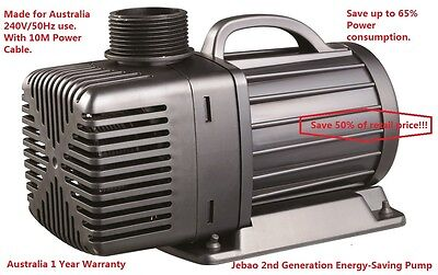 New Jebao JM 6500L/H 50w Energy-Saving Pump With 10M Cable + 1 Year Warranty