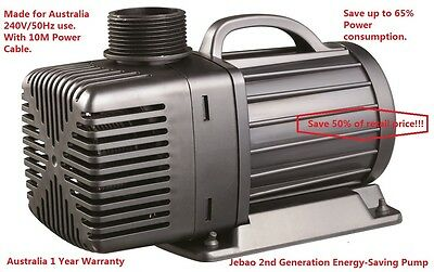 New Jebao JM 10,000 L/H 75w Only Energy-Saving Pump 10M + 1 Year Australia Wty