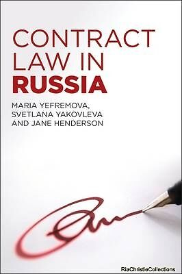 Contract Law in Russia Maria Yefremova New Paperback Free UK Post