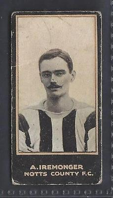 Smith - Footballers (Titled, Light Blue) - #122 A Iremonger, Notts County Fc