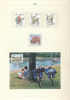 Canada Ireland Sweden Germany CYCLING Sheets Covers Booklets(20+)KS3211