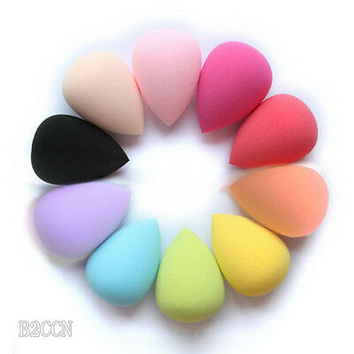 Beauty Makeup Sponge Powder Puff Water Droplets Soft Flawless Foundation Blender