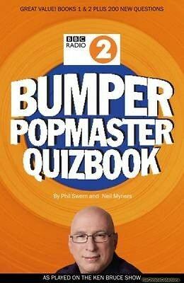 BBC Radio 2 Bumper Popmaster Quiz Book Paperback New Book Free UK Delivery