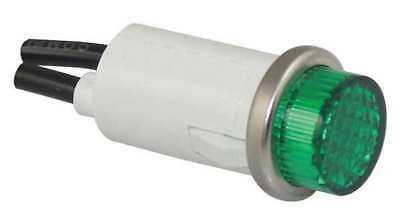 20C851 Raised Indicator Light, Green, 120V