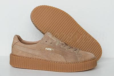 9082d492c10229 New Puma Fenty By Rihanna Creepers Suede Oatmeal Men s Shoes All Sizes