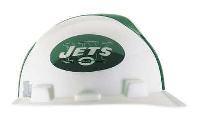 MSA 818404 NFL Hard Hat, New York Jets, Green/White