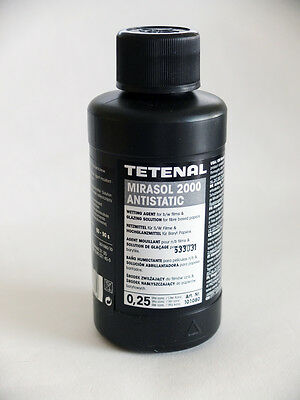 Tetenal MIRASOL 2000 ANTISTATIC 0.25L Wetting Agent for B/W Films & FB Papers