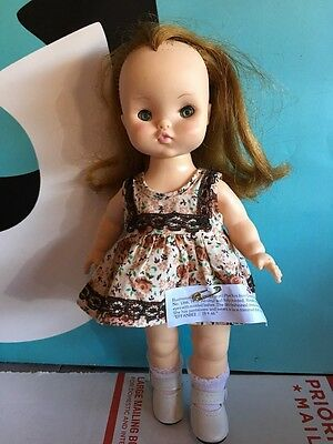 "Effanbee 12"" Doll Vinyl Body with Outfit Pun´kin Punkin"