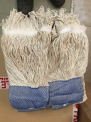 10 Pack - Kentucky 12Oz Mop Head With Blue Scrubber .cheapest On Ebay