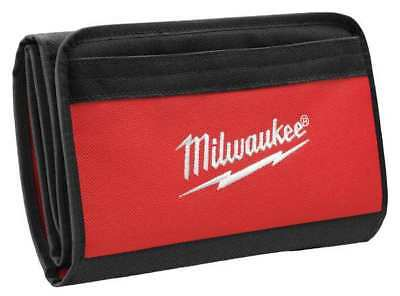MILWAUKEE 48-55-0165 Soft Carrying Case, Nylon, Black/Red