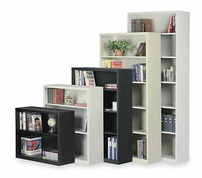 Unassembled, Boltless Stationary Bookcase, Putty , 2HFH2