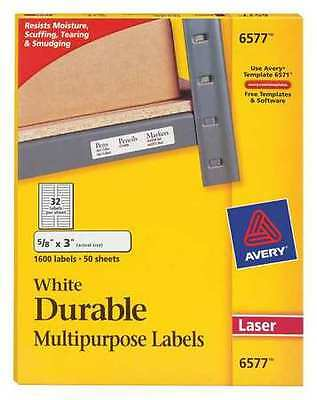 Laser Label, White ,Avery, 6577