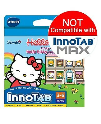 Vtech InnoTAB 2 3 3S Game - Hello Kitty A Day With Kitty Mimmy & Friends