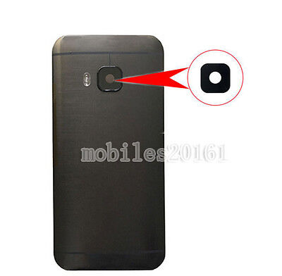 Black Housing Rear Back Camera Lens Cover Replacement Part For HTC One M9