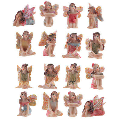 Set of 16 World of Fairies Figurines - Fairy Garden or Party Bags - 5cm