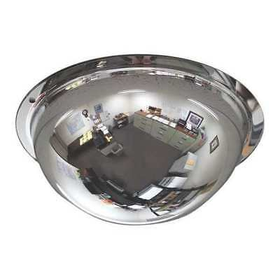 1CZB9 Full Dome Mirror, 8In., Lens Acrylic