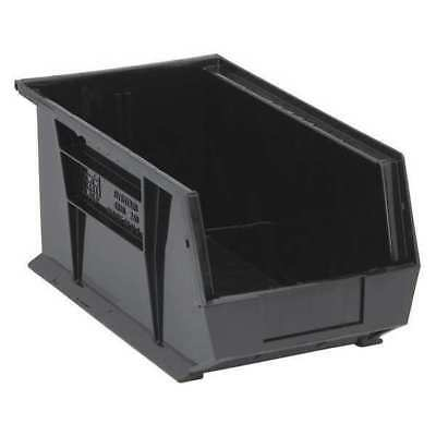 "Black Hang and Stack Bin, 14-3/4""L x 8-1/4""W QUANTUM STORAGE SYSTEMS QUS240BK"