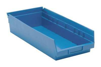 "Blue Shelf Bin, 17-7/8""L x 8-3/8""W x 4""H QUANTUM STORAGE SYSTEMS QSB108BL"