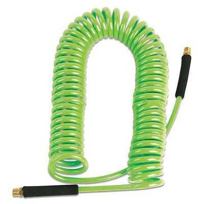 Coiled Air Hose,3/8 in.,50 ft.,Green LEGACY LP3860014N-GRA