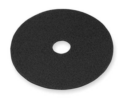 3M 7200 Stripping Pad, 13 In, Black, PK 5